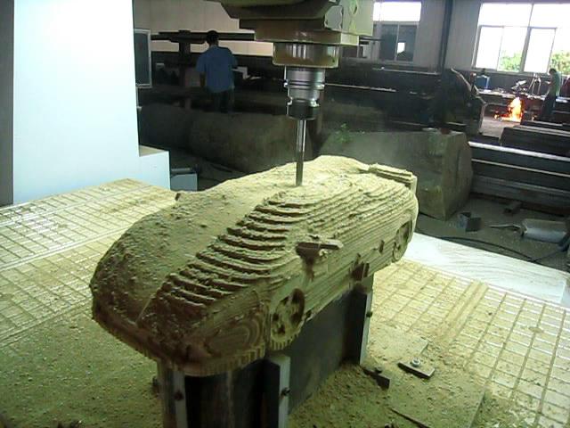 五轴联动加工中心-木工加工中心-木工雕刻机-数控