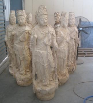 八头立体雕刻机-佛像加工开粗视频